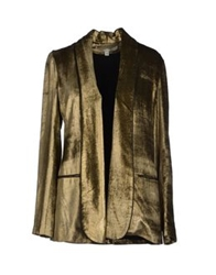 Veronica Beard Blazers Bronze