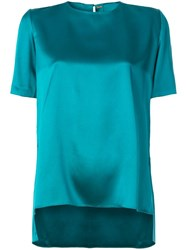 Adam By Adam Lippes Round Neck Blouse Green