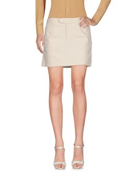 Ralph Lauren Mini Skirts Ivory