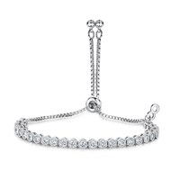 Infinity And Co Anya Bracelet Silver
