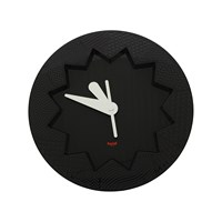 Kartell Crystal Palace Wall Clock Black