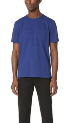 Rag And Bone Standard Issue Pocket Tee Bright Blue