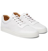 Harry's Of London Harrys Mr Jones 2 Perforated Leather Sneakers White