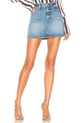 Frame Le Mini Skirt Majorelle