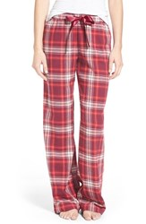 Bp. Undercover Junior Women's Bp. Plaid Lounge Pants Purple Nectar Lawny Tartan