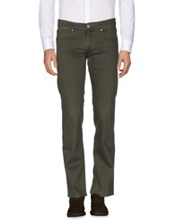 Hiltl Casual Pants Military Green
