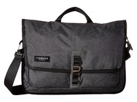 Timbuk2 Transit Briefcase Jet Black Static Briefcase Bags Gray