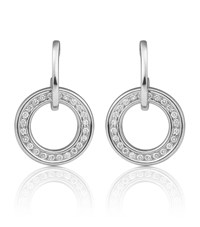 Boodles Classic Roulette Earrings Silver