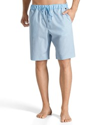 Hanro Night And Day Lounge Shorts Light Blue