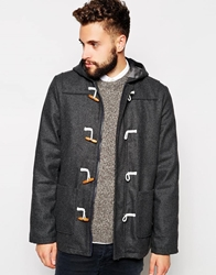 Barney's Originals Barney's Wool Duffle Coat Grey
