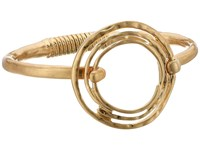 The Sak Orbit Spring Bangle Bracelet Gold Bracelet