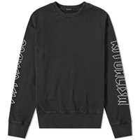 Ksubi Disposable Decon Crew Sweat Black
