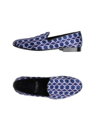 Never Ever Moccasins Blue