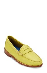 G.H. Bass Women's And Co. 'Whitney' Loafer Yellow