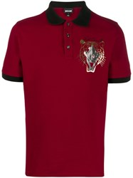 Just Cavalli Logo Embroidered Polo Shirt 60