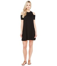 Culture Phit Aleta Cold Shoulder Dress Black Women's Dress