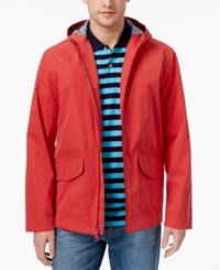 Club Room Men's Hooded Raincoat Only At Macy's Melone