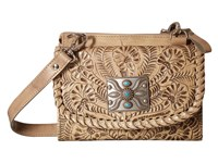 American West Texas 2 Step Grab And Go Combination Bag Sand Shoulder Handbags Beige