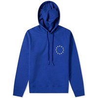 Etudes Studio Klein Europe Embroidered Stars Hoody Blue
