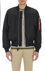 Alpha Industries Ma 1 Flight Jacket Black