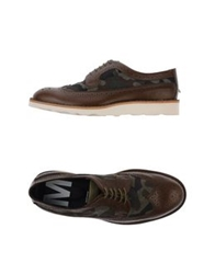 Mauro Grifoni Lace Up Shoes Dark Brown