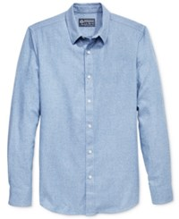 American Rag Men's Solid Long Sleeve Shirt Only At Macy's Dusty Seas