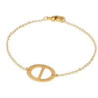 Retrospective Jewellery Buckle Bracelet Gold