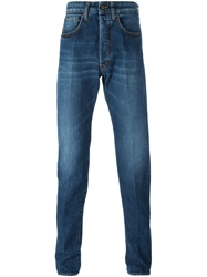 People Slim Fit Jeans Blue