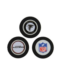 Team Golf Atlanta Falcons 3 Pack Poker Chip Markers Red