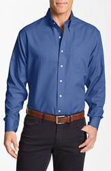 Cutter And Buck Men's Big Tall 'Nailshead Epic Easy Care' Classic Fit Sport Shirt
