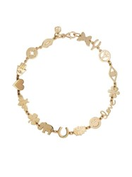 Sydney Evan 14Kt Yellow Gold Icon Multi Charm Bracelet