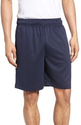 Majestic International Men's Big And Tall Work Out Lounge Shorts Navy