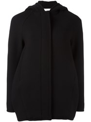 Gianluca Capannolo Hooded Long Jacket Black