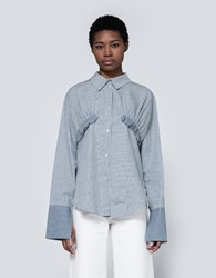 Rejina Pyo Annie Shirt Stripe Mix