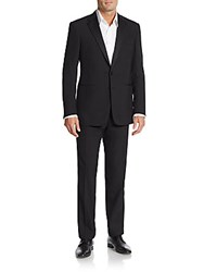 Ralph Lauren Black Label Two Button Wool Tuxedo Black