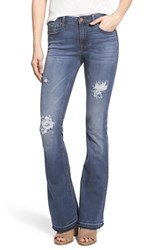 Women's Vigoss Distressed Flare Jeans