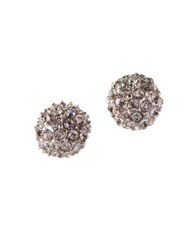 Bcbgeneration Textured Stud Earrings Silver