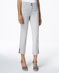 Charter Club Cropped Pants Only At Macy's Deep Black Combo