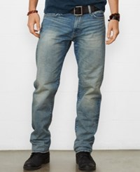 Denim And Supply Ralph Lauren Men's Straight Leg Jeans Comstock