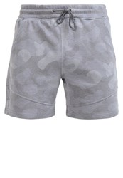 Solid Haral Shorts Castlero Grey