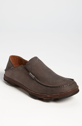 Olukai 'Moloa' Slip On Men Storm Grey Dark Wood