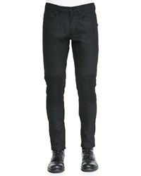 Belstaff Blackrod Raw Stretch Denim Jeans Black