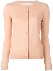 Red Valentino Buttoned Cardigan Pink And Purple