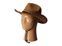 San Diego Hat Company Pbc1016 Ombre Woven Paper Cowboy W Chin Cord Brown Traditional Hats