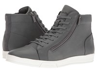Calvin Klein Berke Grey Men's Lace Up Boots Gray