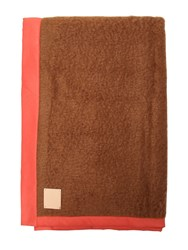 Midsummer Milano Double Brown Mohair And Wool Throw