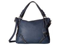 Jessica Simpson Kiara Crossbody Satchel Indigo Satchel Handbags Blue