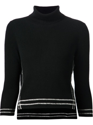 Band Of Outsiders Turtle Neck Sweater Black