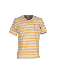 Bob Strollers Bob Topwear T Shirts Men Yellow