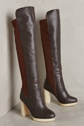 Anthropologie Australia Luxe Collective Melissa Over The Knee Boots Brown